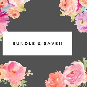 Save 20% on bundles or make me an offer!!
